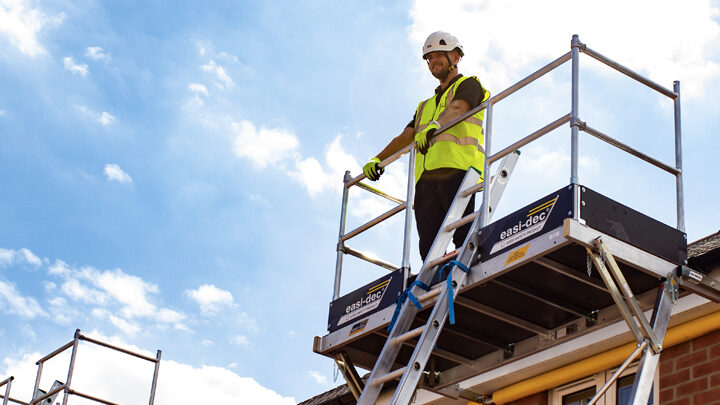 Easi-dec Mobile Work Access Platform 1